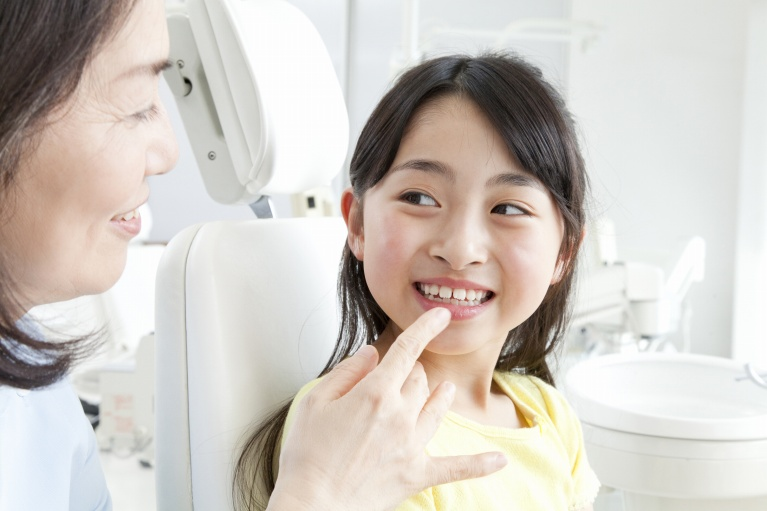 大切!!なポイント お子さまの虫歯予防は歯並びから